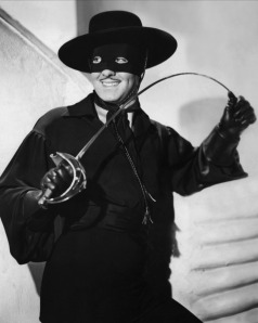 Tyrone Power as Zorro