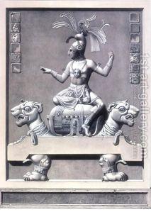 Mayan King on his Jaguar Throne