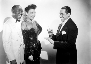"""Bill """"Bojangles"""" Robinson, Lena Horne and Cab Calloway in """"Stormy Weather"""""""