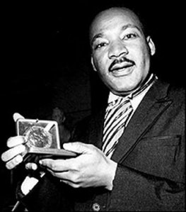 Dr. Martin Luther King and his Nobel Peace Prize