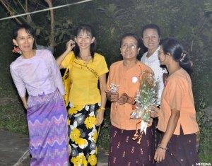 Aung San Suu Kyi's release on November 13, 2010