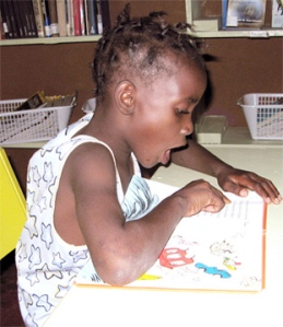 Trench Town Reading Centre literacy program 2008