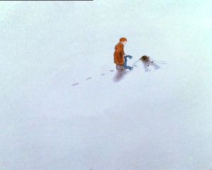 """Scene from """"The Snowman"""""""