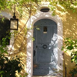 Doorway in Grasse, south of France