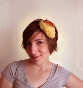 Deer headband fascinator