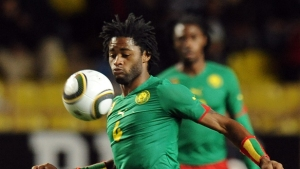 Alexandre Song playing for Cameroon