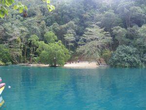 Blue Lagoon fake beach 20 Jan 2011