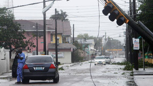 Hurricane Irene in the Bahamas