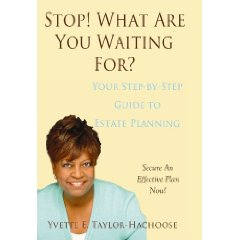 Book on Estate Planning by Yvette Taylor-Hachoose