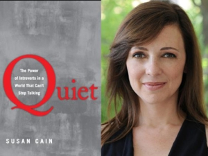 """Quiet, Please"" and author Susan Cain"
