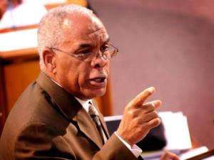 Minister of Transport & Works Omar Davies