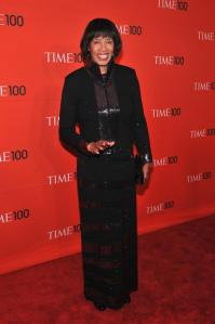 Portia Simpson Miller at the Time Magazine awards