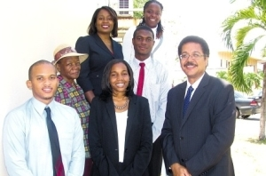 Norman Manley Law School Debate Team