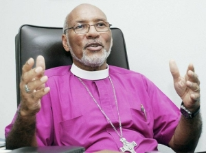 Anglican Bishop of Jamaica Howard Gregory