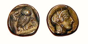 Owl of Athena coin