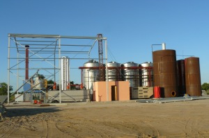 The ethanol cooking fuel plant in Mozambique