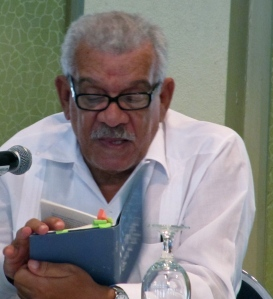 Derek Walcott reads at the Katalyxt Writer's Forum