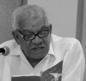 "Derek Walcott reads from ""White Egrets"" at the Katalyxt Writers Forum"
