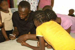 Usain Bolt at Dare to Care