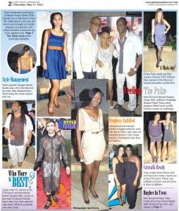 The Jamaica Observer's Page Two