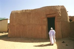 A traditional home in Zinder, Niger