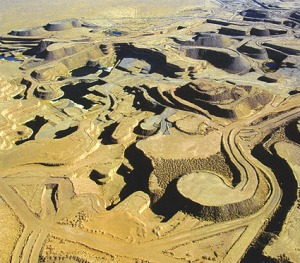 Uranium mine in Niger