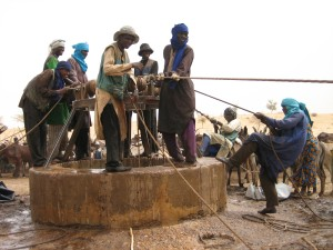 A well in Zinder, Niger