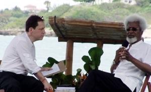 Nigerian writer Wole Soyinka at Calabash