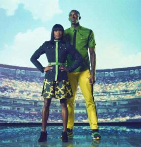 Jamaican athletes designs by Cedella Marley