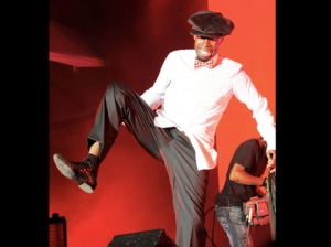 Shabba Ranks on stage at Reggae Sumfest
