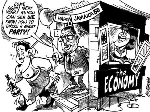 Sunday Gleaner editorial cartoon, August 19, 2012