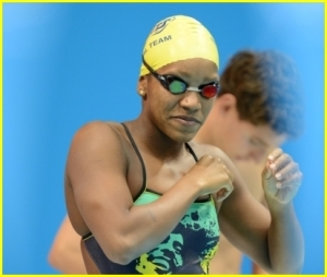 Alia Atkinson at the 2012 Olympics
