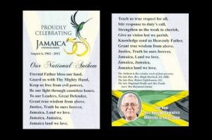 Jamaica 50 bookmark