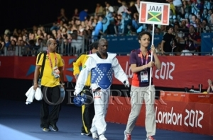 Kenneth Edwards at London Olympics