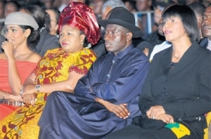 Nigerian President at Jamaica 50
