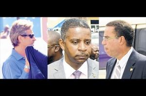 Three corruption accused