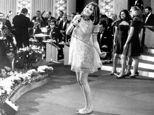English sixties singer Sandie Shaw