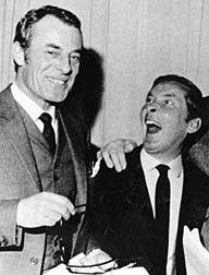 Hugh Paddick and Kenneth Williams