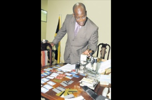 Fitz Bailey looks at credit card fraud equipment