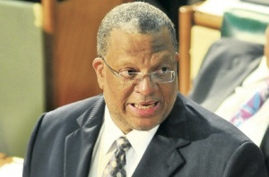 Finance Minister Peter Phillips