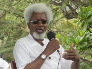 Wole Soyinka in Jamaica 2010