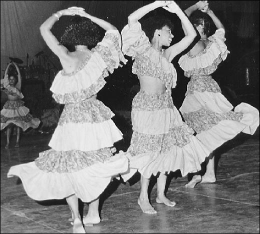 The Festival Dance Competition, back in the day. (Photo: Pieces of the Past/Gleaner)