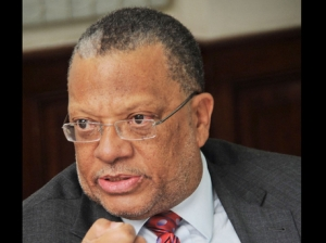 Minister of Finance Peter Phillips
