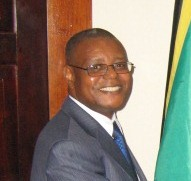Dr. Pierre Somse, Country Coordinator for Jamaica, Belize and the Bahamas, UNAIDS