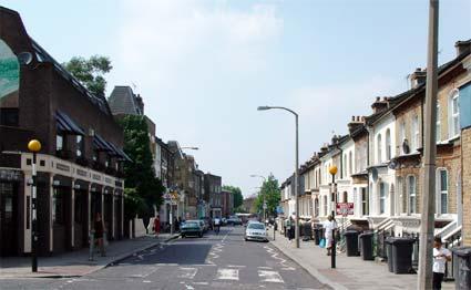 Railton Road, Brixton in 2003... Looking in better shape.
