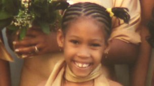 """Imani Green was a """"happy girl,"""" her relatives say. (Photo: BBC)"""