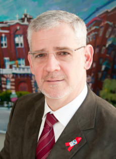 Dr. Julio Montaner, Director of the British Columbia Centre for Excellence in HIV/AIDS