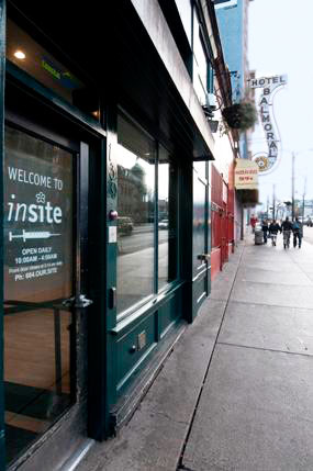 An Insite office in Vancouver.