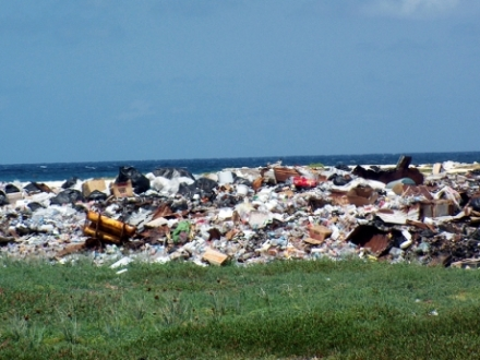 Garbage on Pedro Cays. (Photo: Gleaner)
