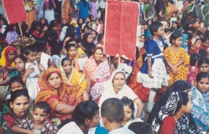 A demonstration for women's rights in Bangladesh. (Photo: UN Democracy Fund website)